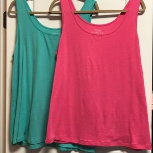 Two tank tops from Kohl's